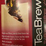 TeaBrew Size 1