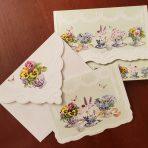 Garden Tea Party Note Cards